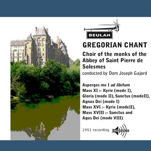 Pay for Gregorian Chant Abbey of Saint Pierre de Solesmes choir