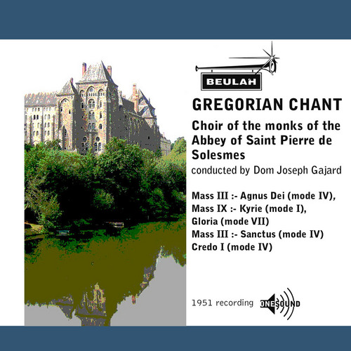 Pay for Gregorian Chant Abbey of Saint Pierre de Solesmes choir
