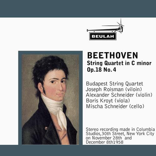 Pay for Beethoven String Quartet OP 18 No 4 1st mvt Budapest Quartet