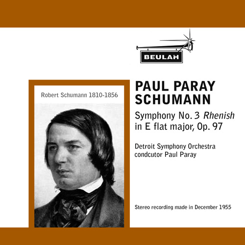 Pay for Schumann Symphony  No 3 1st mvt Paul Paray