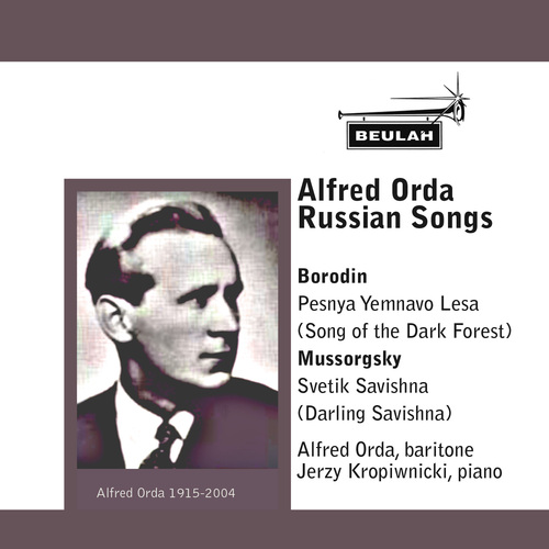 Pay for Alfred Orda  baritone sings Russian Songs