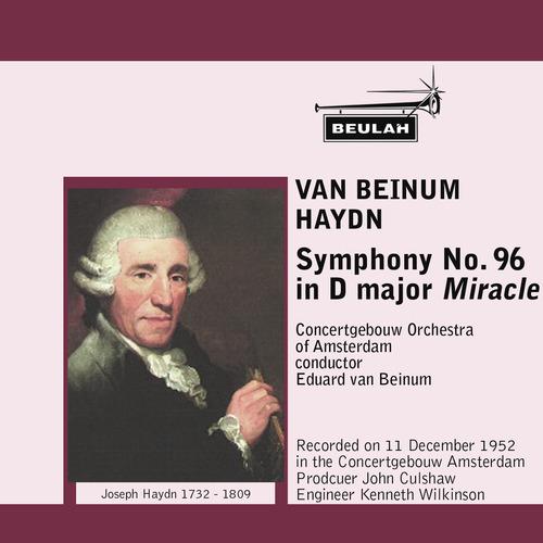 Pay for Haydn Symphony 96 2nd mvt Concertgebouw van Beinum