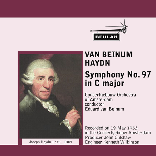 Pay for Haydn Symphony 97 3rd mvt Concertgebouw van Beinum