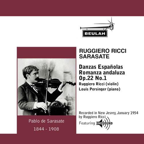 Pay for Sarasate Danzas Espanolas No.3 Ruggiero Ricci