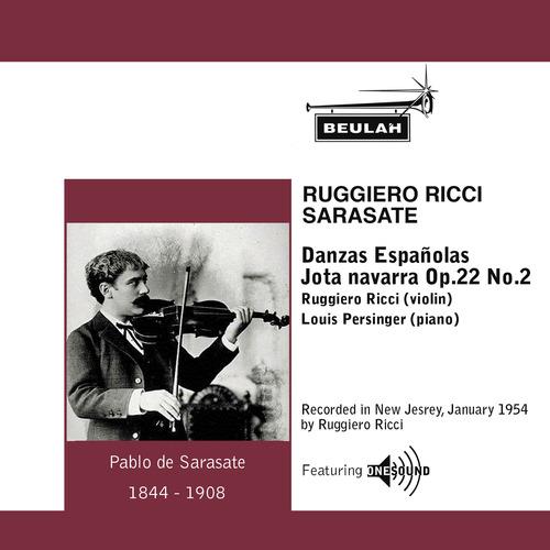 Pay for Sarasate Danzas Espanolas No. 4 Ruggiero Ricci