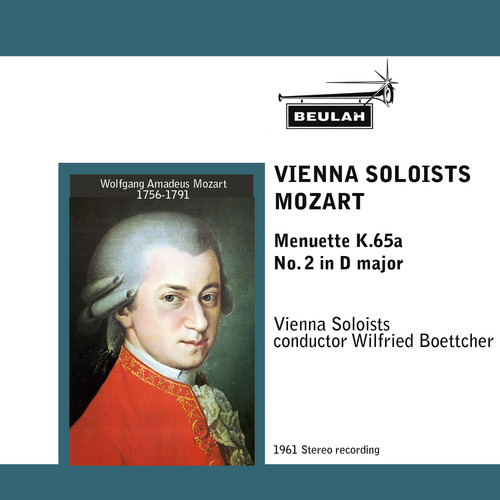 Pay for Mozart Menuette K65a  No 2 in D major Vienna Soloists