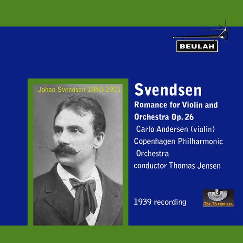 Pay for Svendsen Romance for Violin and Orchestra