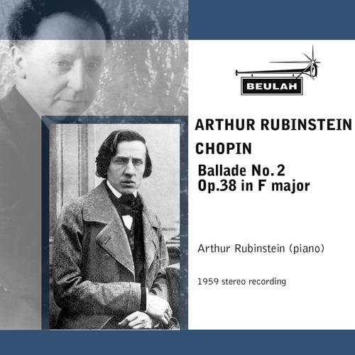 Pay for Chopin Ballade No 2 Arthur Rubinstein