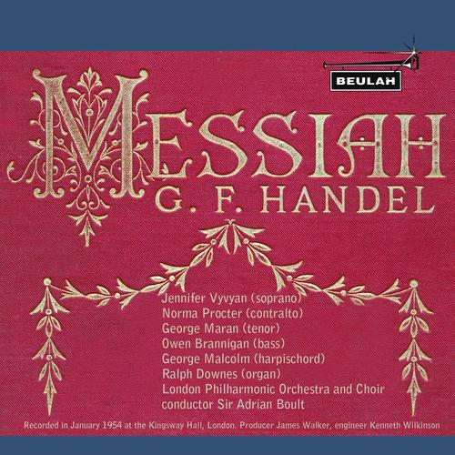 Pay for Handel Messiah Part 2 LPO Boult