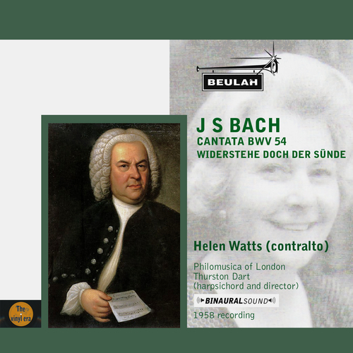 Pay for Bach Cantata BWV 54 Helen Watts