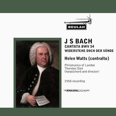 Pay for Bach Cantata No 54 Helen Watts Philomusica