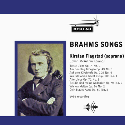 Pay for Brahms Eight Songs Kirsten Flagstad