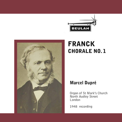 Pay for Franck Chorale No 1 Marcel Dupre