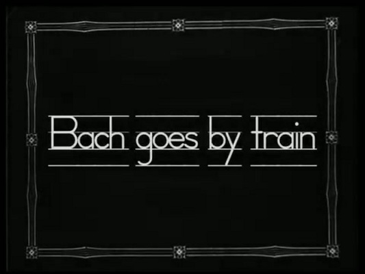 Pay for Bach Goes By Train