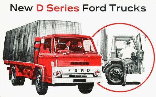 Thumbnail Taller de Ford D1000 Manual Collection