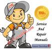 Thomas 95,105,115 Skid Steer Loader Servcie Repair Manual