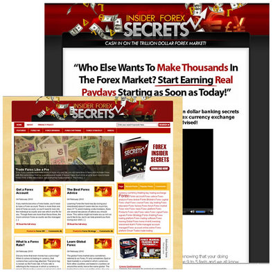 Pay for New HOT FOREX Niche BLOG
