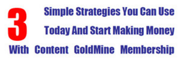Thumbnail Make Money With Content Goldmine