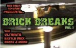 Thumbnail Brick Beats Vol. 1 mp3 Professional DJ break beats 22 Tracks FULL RETAIL Red Brick Records
