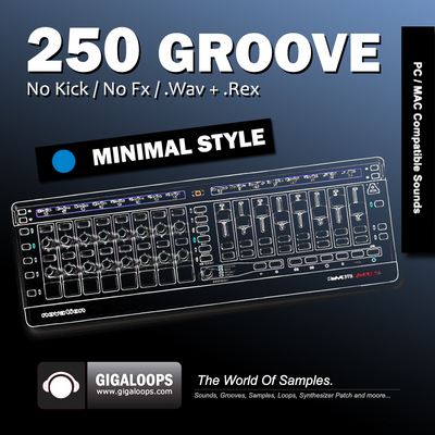 Pay for 250 Grooves Minimal Style