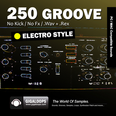 Pay for 250 Grooves  Electro Style