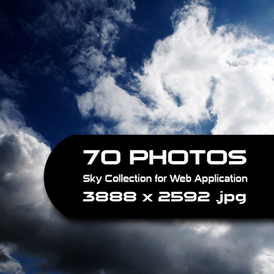 Pay for 70 Photos of Sky
