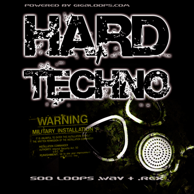 Pay for 500 Hard Techno Loops Par 2