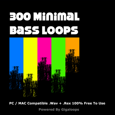 Pay for 300 Minimal Bass Loops