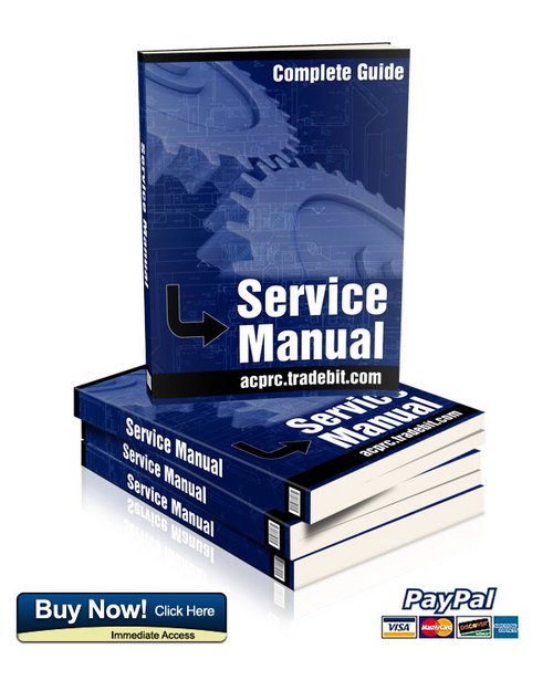 Pay for Terex TA35 and TA40 Dumptruck service and repair manual