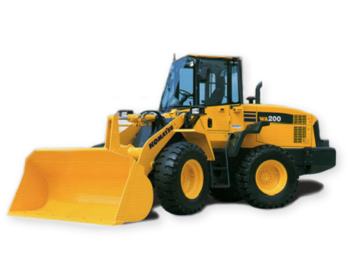 Pay for Komatsu WA200-5  WA200PT-5 wheel loader service manual