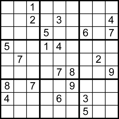 Pay for 6400 Sudoku Puzzles With Solutions