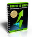 Thumbnail Profit 13 Ways With Master Resell Rights!