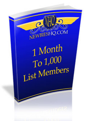Pay for 1 Month To 1000 List Members With MRR!