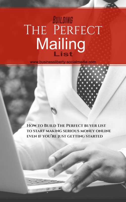 Pay for Building The Perfect buyer list
