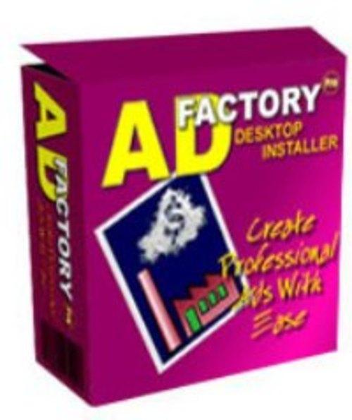 Pay for Ad Factory Pro Desktop Installer