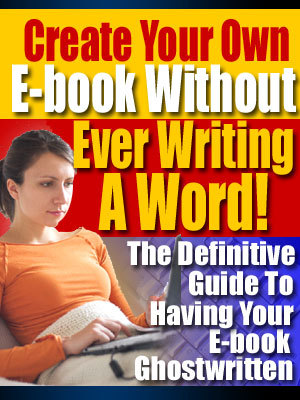 Pay for Create Your Own E-Book Without Ever Writing One Word with MR