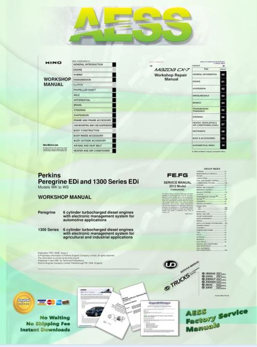 Pay for WORKHORSE W Series Truck Service Manual 2007