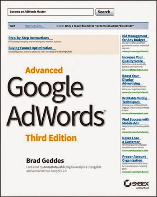 Pay for Advanced Google AdWords 3rd Edition