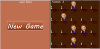 Thumbnail javascript game, (bush shoe)