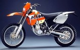 Thumbnail Ktm 250 400 450 520 525 Sx Exc 2000 2006 Service Manual
