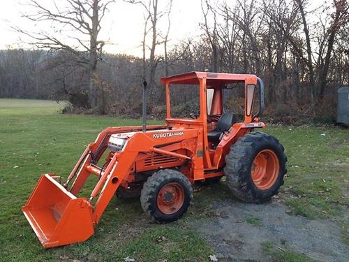 Free Kubota L2650 L2950 L3450 L3650 Tractor Operator