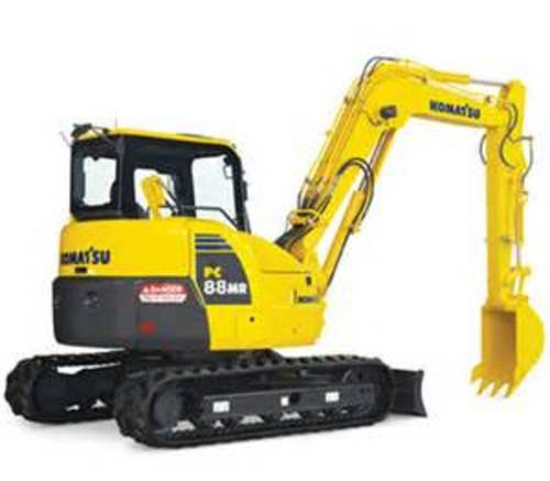 komatsu pc88mr 10 hydraulic excavator workshop service