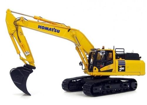 komatsu pc490lc 11 hydraulic excavator workshop service