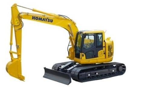 komatsu pc138uslc 10 hydraulic excavator workshop service. Black Bedroom Furniture Sets. Home Design Ideas