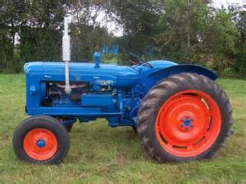 ford fordson major tractor workshop service repair manual