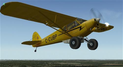 Piper Super Cub Owners Manual Poh Pa18 Pa-18