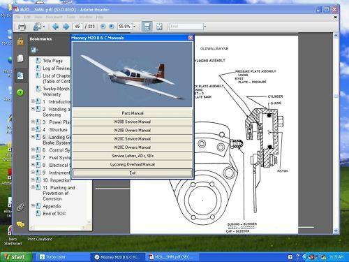 mooney m20m bravo aircraft service manual download manuals rh tradebit com aircraft maintenance manuals aircraft maintenance manual supplement