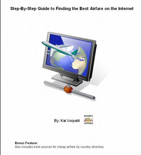Pay for Step by Step Guide to finding the best airfare on the Internet.pdf