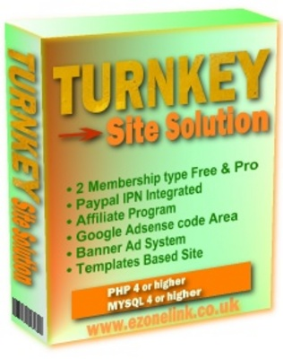 Pay for Turnkey Site Solution
