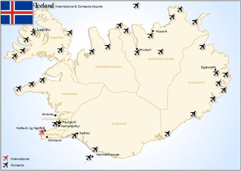 Iceland Airports Pligg - Airports in iceland